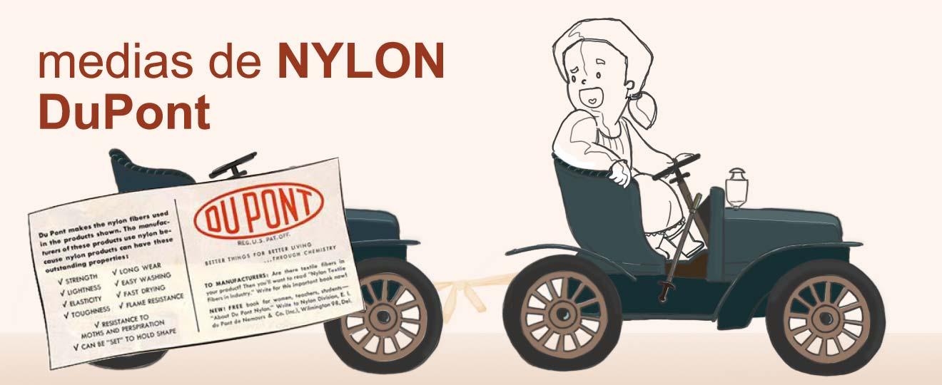 Medias de Nylon y DuPont. Obsolescencia programada